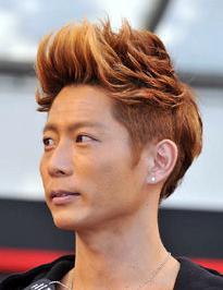 黒木啓司 髪型