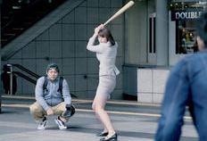 稲村亜美 スイング